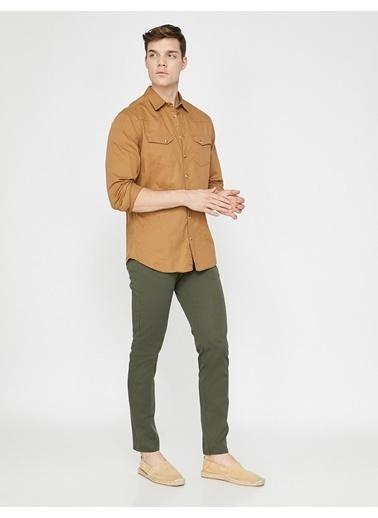 Koton Pantolon Yeşil